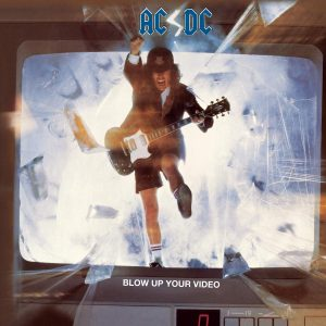 AC DC Blow up your video albumcover