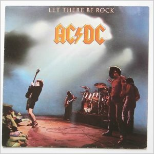 AC/DC Let there be rock album cover